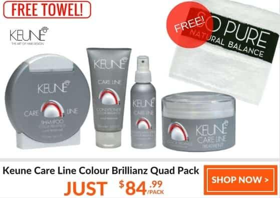 Keune care line colour brilliance quad pack