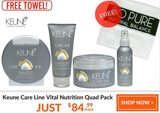 Keune care line vital nutrition quad pack 1