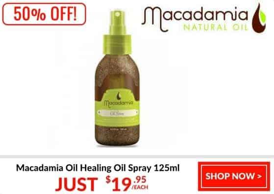 Macadamia oil 50% off