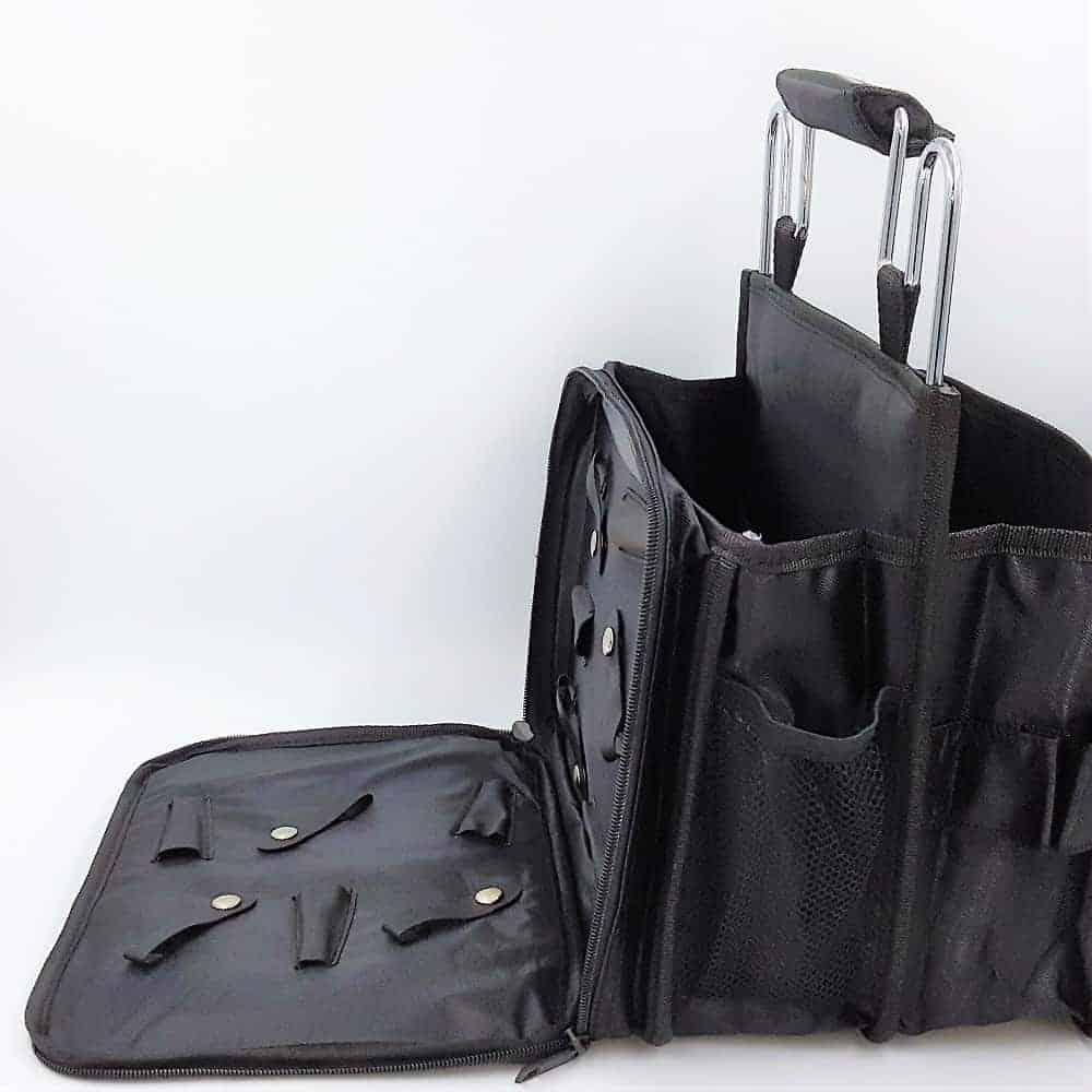 Tool Tote Mobile Hairdresser Equipment Bag Black Nevoshop Com Au
